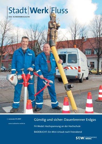 Ausgabe 01.2007 - Stadtwerke Wedel