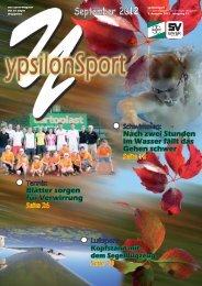 September 2012 ypsilonSport - SV Bayer Wuppertal