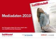 Mediadaten 2010 (PDF) - TextilWirtschaft