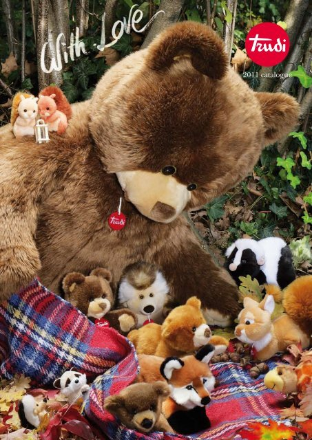 Teddy mit Halsband Baby Mobile TRUDI