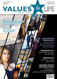CLARA LOUISE & FABIAN BUCH: BADEMODE 2011 ... - Values & Life