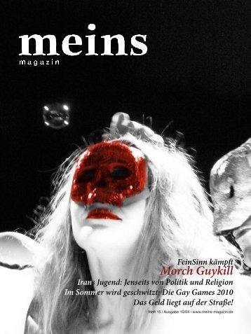 Die gesamte Ausgabe als PDF herunterladen - meins magazin