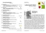 Lebenswert leben - Lingenau