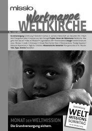 zum Download: Werkmappe Weltkirche 153 (PDF) - Missio