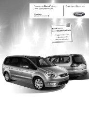 Preisliste Ford Galaxy Viva, 9/2010 - mobilverzeichnis.de
