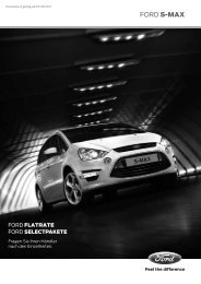 Preisliste Ford S-Max, 8/2011 - mobilverzeichnis.de