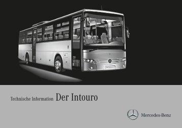 Technische Information Der Intouro - Mercedes-Benz Portugal