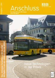 Anschluss 1/2012 - Industrielle Betriebe der Stadt Brugg