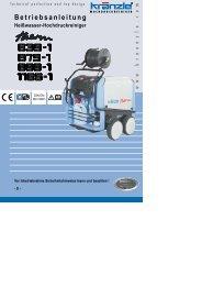 Hochdruckreiniger Kränzle therm 895-1