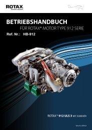 BETRIEBSHANDBUCH - Rotax Aircraft Engines