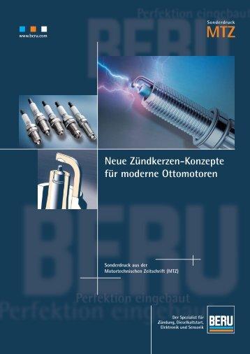 MTZ Neue Zündkerzen-Konzepte für moderne Ottomotoren