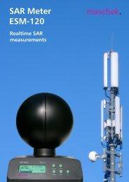 SAR Meter ESM-120 - Maschek Elektronik