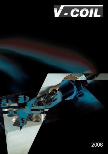 Gewindereparaturwerkzeuge V-COIL - h.maeder