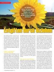 Entgiften durch Ölziehen - Naturheilkunde+Gesundheit