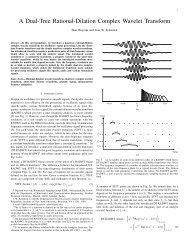 Image Analysis Using a Dual-Tree M-Band Wavelet     - IEEE