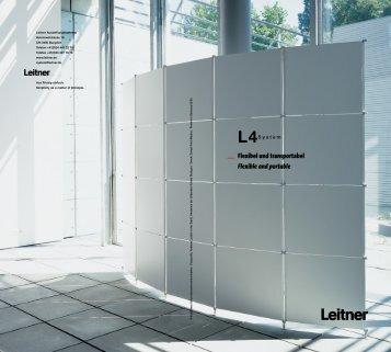 L 4System - Leitner Ausstellungssysteme