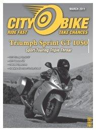 Triumph Sprint GT 1050 - Level Five Graphics