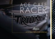 View PDF Brochure - Ace Cafe London