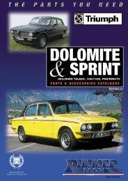 Rimmer Bros - Dolomite - Rimmer Brothers