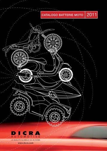 CATALOGO BATTERIE MOTO - CIR Moto
