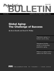 Global Aging: The Challenge of Success - Population Reference ...