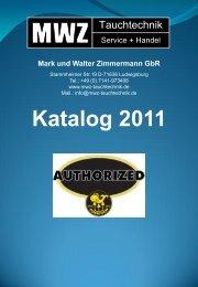 Katalog 2011 - MWZ-Tauchtechnik