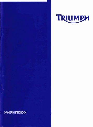 Triumph daytona 675 owners manual pdf fandeluxe Gallery