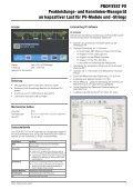 PROFITEST PV Peakleistungs - GOSSEN METRAWATT, GMC-I ... - Seite 3