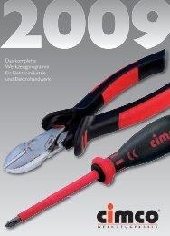 Das komplette Werkzeugprogramm für Elektroindustrie und ...