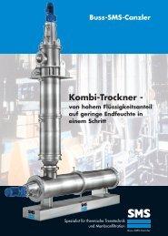 Download Flyer Kombi-Trockner - Buss SMS Verfahrenstechnik GmbH