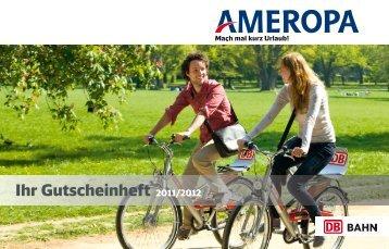 Ihr Gutscheinheft 2011/2012 - Ameropa-Reisen