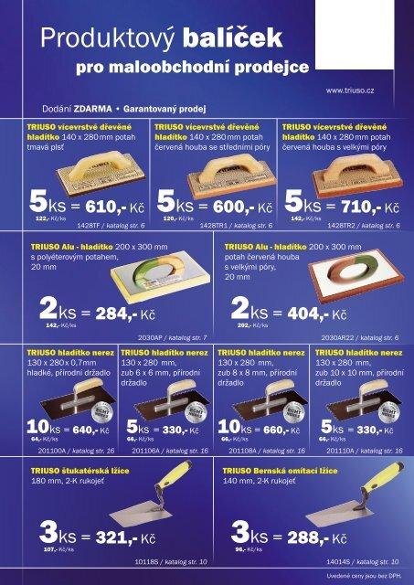 Produktový balíček - Triuso