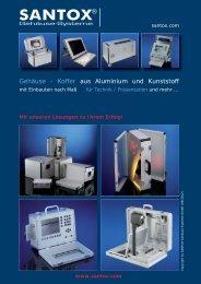Gehäuse - Koffer aus Aluminium und Kunststoff - Foehrenbach ...