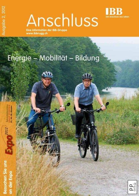 Anschluss 2/2012 - Industrielle Betriebe der Stadt Brugg
