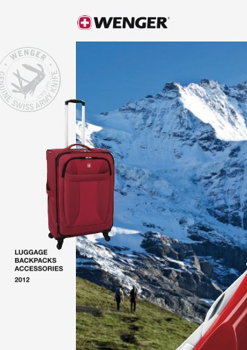 LuGGAGE BACkpACkS ACCESSoriES 2012 - haeusser