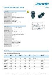 Trompeten-Ex-Kabelverschraubung 73xx B - Jacob GmbH