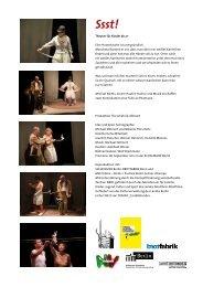 (ehemal. Arbeitsitel: Mit Pauken & Trompeten) Theater für Kinder ab ...