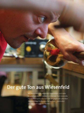 Impuls, Ausgabe 4/2010, Seiten 6-9 - Josef Gopp