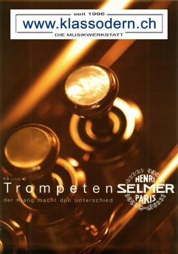 Selmer - KLASSODERN - Die Musikwerkstatt
