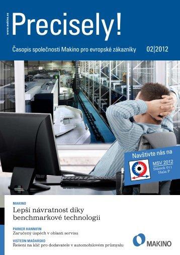 Precisely! (PDF 2,2 MB) - Makino Europe GmbH