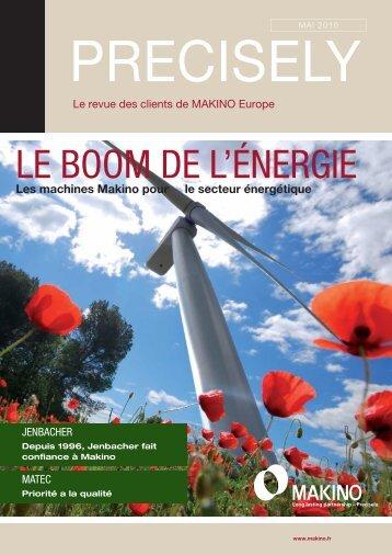 Precisely! (PDF 2,9 MB) - Makino Europe