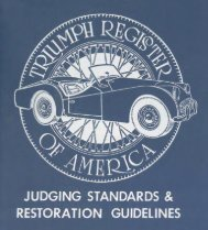 Download the TR2/3 TRA Judging Standards and - Triumph ...