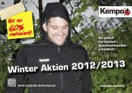 Winter Aktion 2012/2013