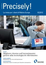 Precisely! - Makino Europe GmbH