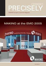MAKINO at the EMO 2005 - Makino Europe