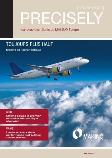 Precisely! (PDF 2,7 MB) - Makino Europe