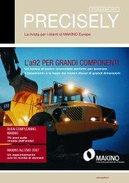 L'a92 PER GRANDI COMPONENTI - Makino Europe GmbH