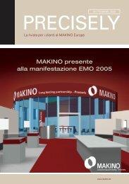 MAKINO presente alla manifestazione EMO 2005 ... - Makino Europe
