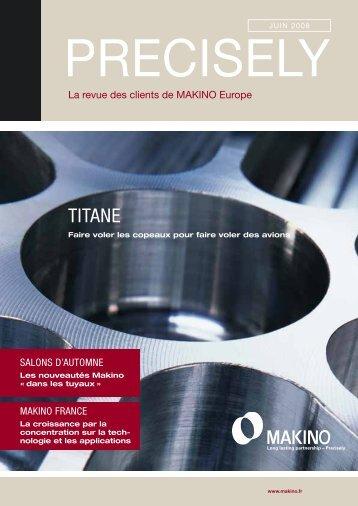 TITANE - Makino Europe