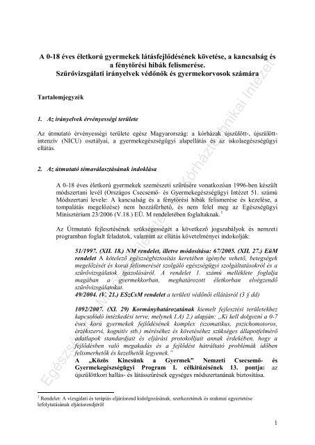 levél asztali látásvizsgálat)